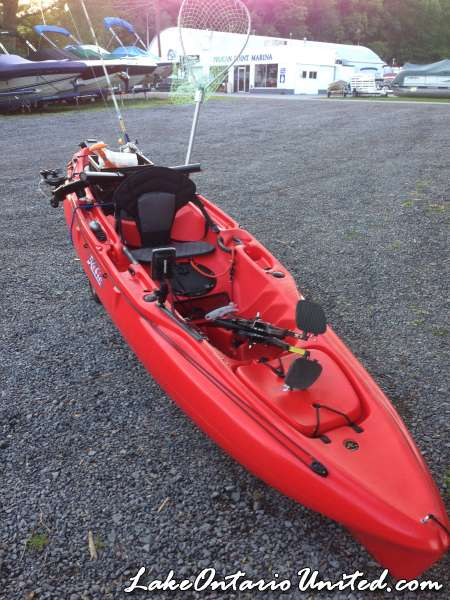 kayak rig 2014