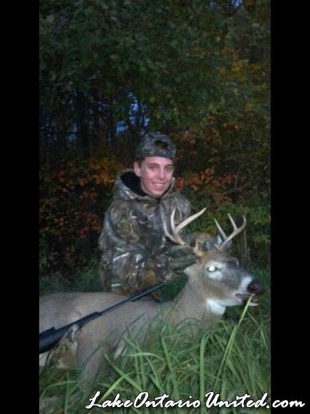 First buck of the 2012 season
