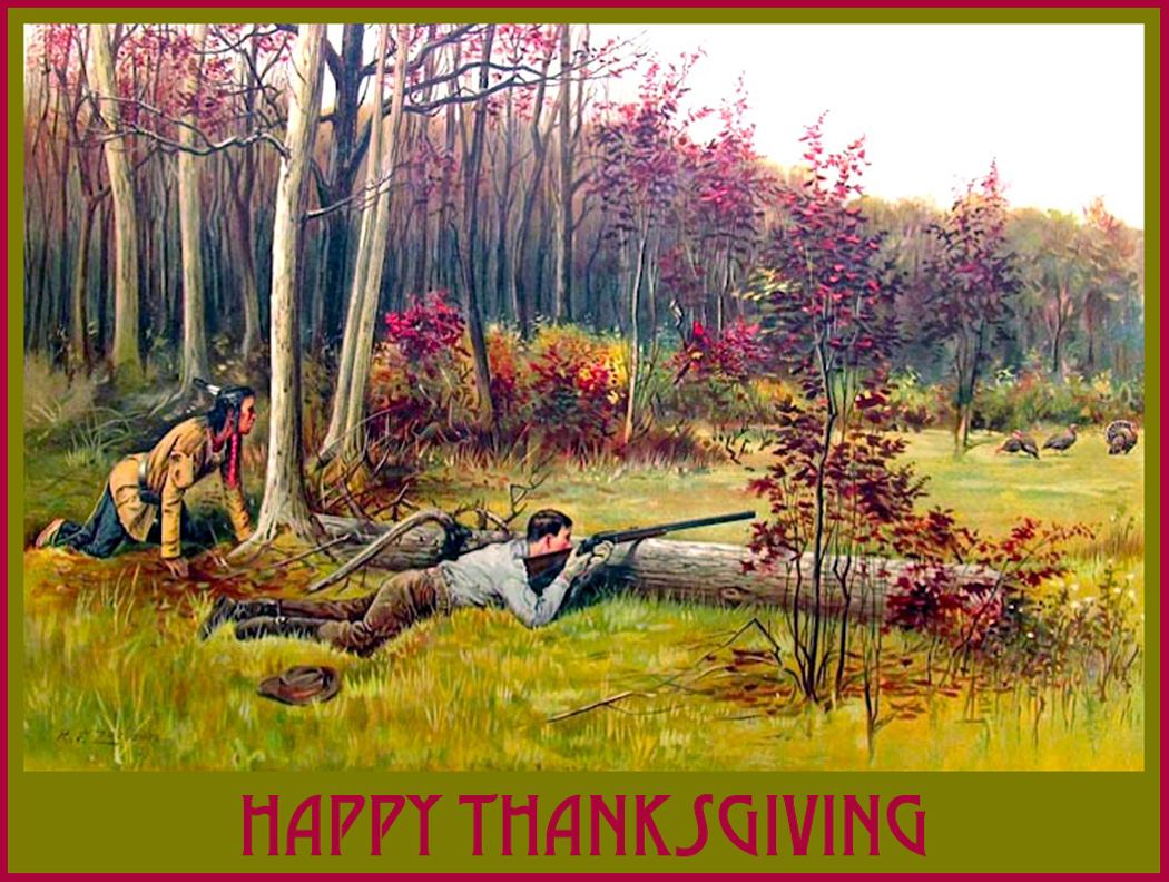 Image result for happy thanksgiving hunting