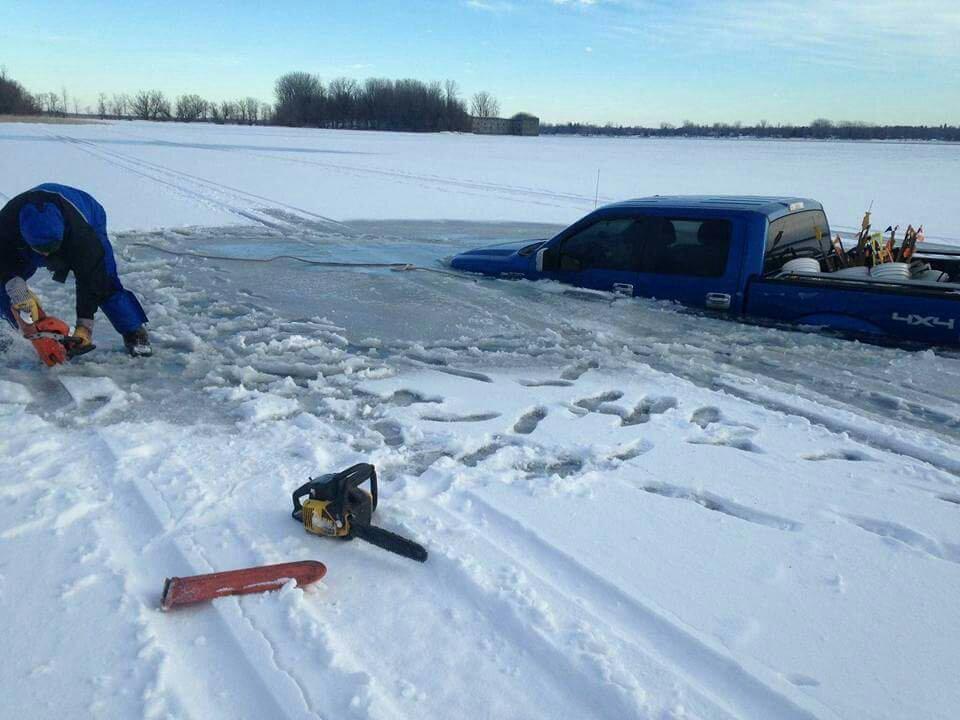 F150 Down Lake Champlain Ice Fishing Lake Ontario