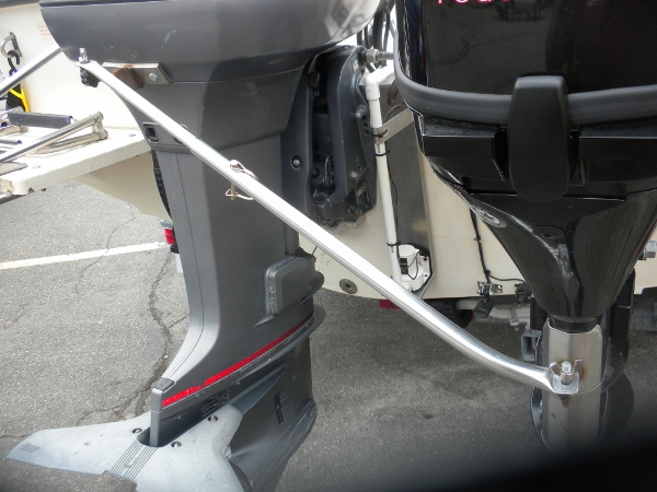Outboard motor hook up
