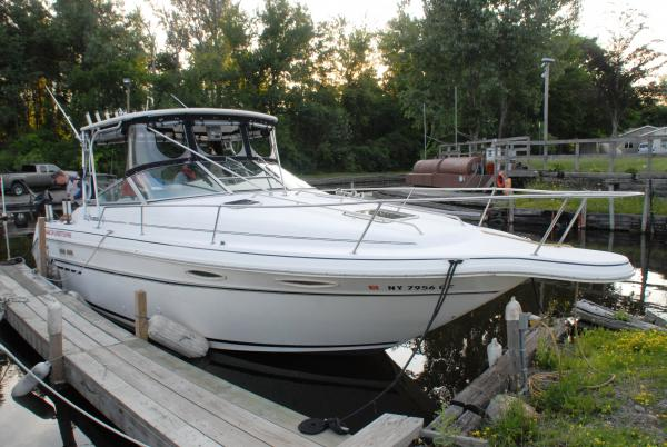 Lowrance Depth Finder >> 1991 Sea Ray 280 Weekender - Classifieds - Buy, Sell, Trade or Rent - Lake Ontario United - Lake ...