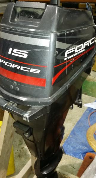 Post on 1987 Mercury 15 Hp Outboard