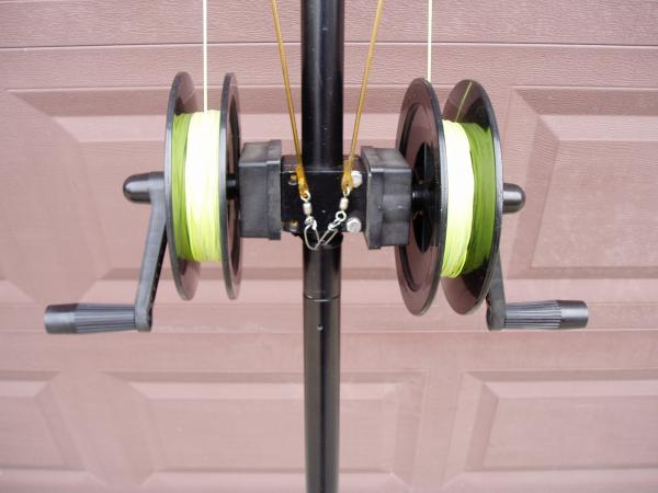 Cannon Dual Reel Planer Board Mast - Classifieds - Buy, Sell, Trade or Rent - Lake Ontario ...
