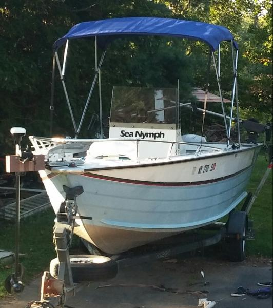 19ft sea nymph center console 5000 classifieds buy sell rh lakeontariounited com 1989 Sea Nymph Boat Sea Nymph 10 12