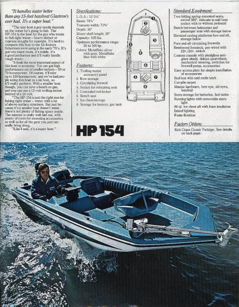 78 glastron hp154 bass boat - Classifieds - Buy, Sell, Trade or Rent