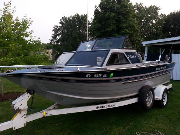 1990 sylvan offshore fishing boat 3700 classifieds for Offshore fishing boats for sale