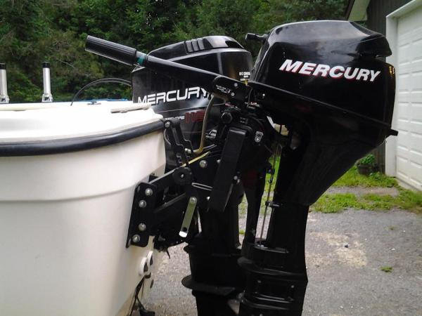 2008 Mercury 4 Stroke 9 9 Kicker With Transom Bracket