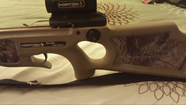 Horton Team Realtree Explorer TR175 crossbow $175 00