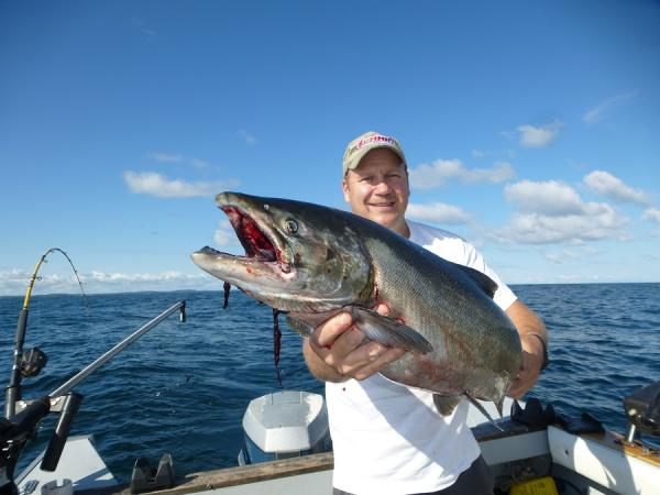 Fairhaven 29aug 02sept with buckboardjr new york fishing for Lake ontario fishing report