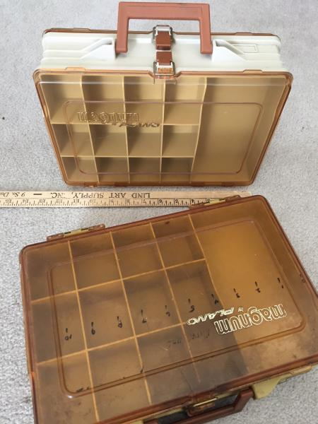 Spoons rudders tackle boxes and more classifieds buy for Monthly fishing box