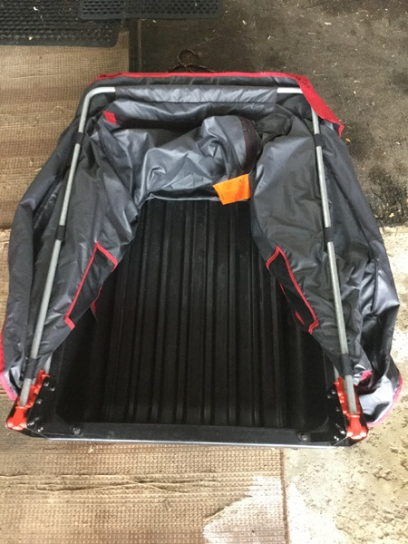 Ice fishing gear auger flip over reduced for Rent fishing gear
