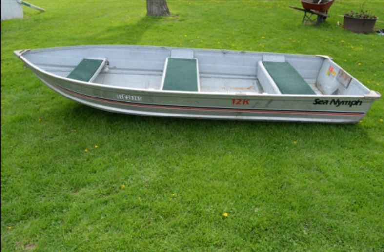 Aluminum Boat Storage : Ideas for mounting and storage in aluminum boat