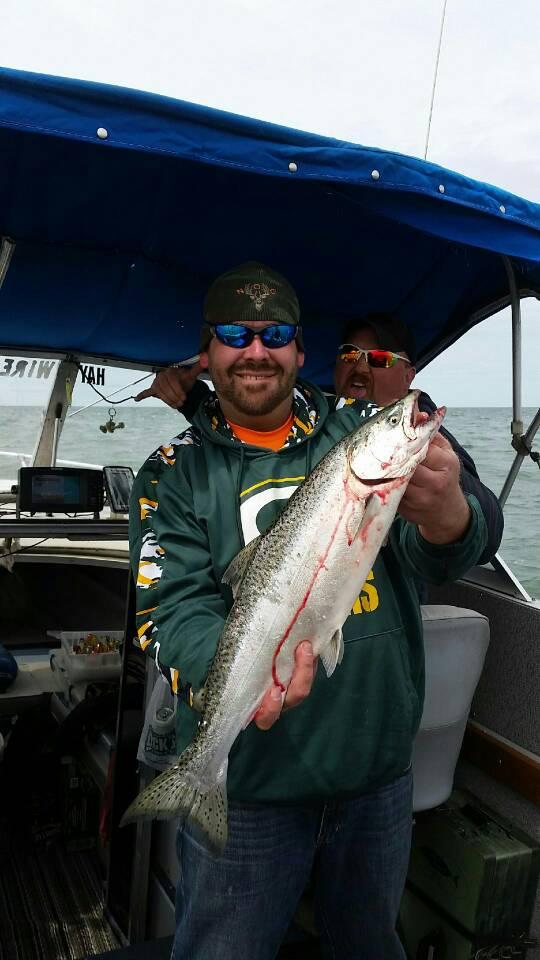 Haywire shakedown new york fishing reports lake for Oak orchard fishing report 2017