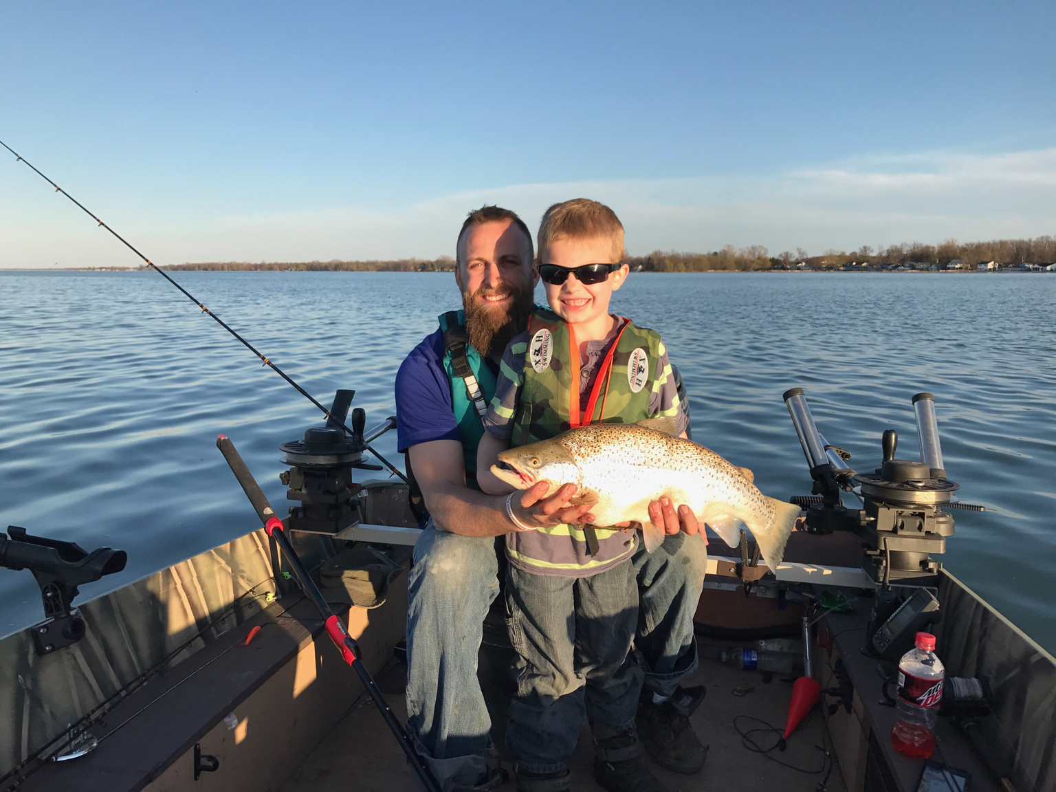 4 22 evening at sandy creek new york fishing reports for South shore fishing report