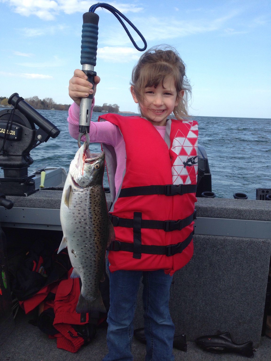 Sandy creek easter 4 16 17 new york fishing reports for South shore fishing report