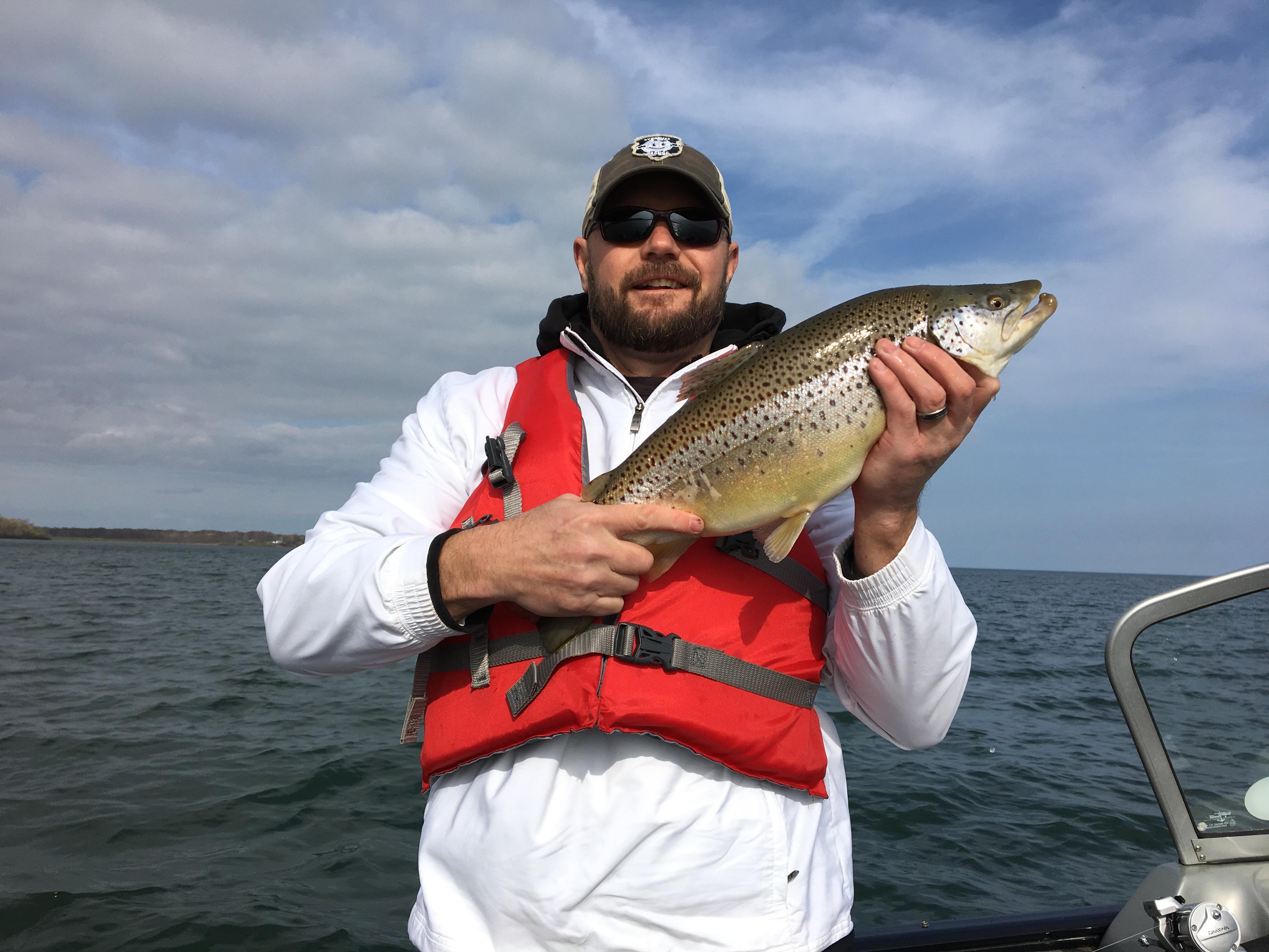 Oak orchard 4 28 new york fishing reports lake ontario for Oak orchard fishing report