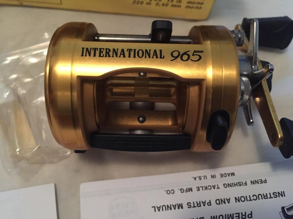 Penn 965 international baitcasting real  $195 - Classifieds