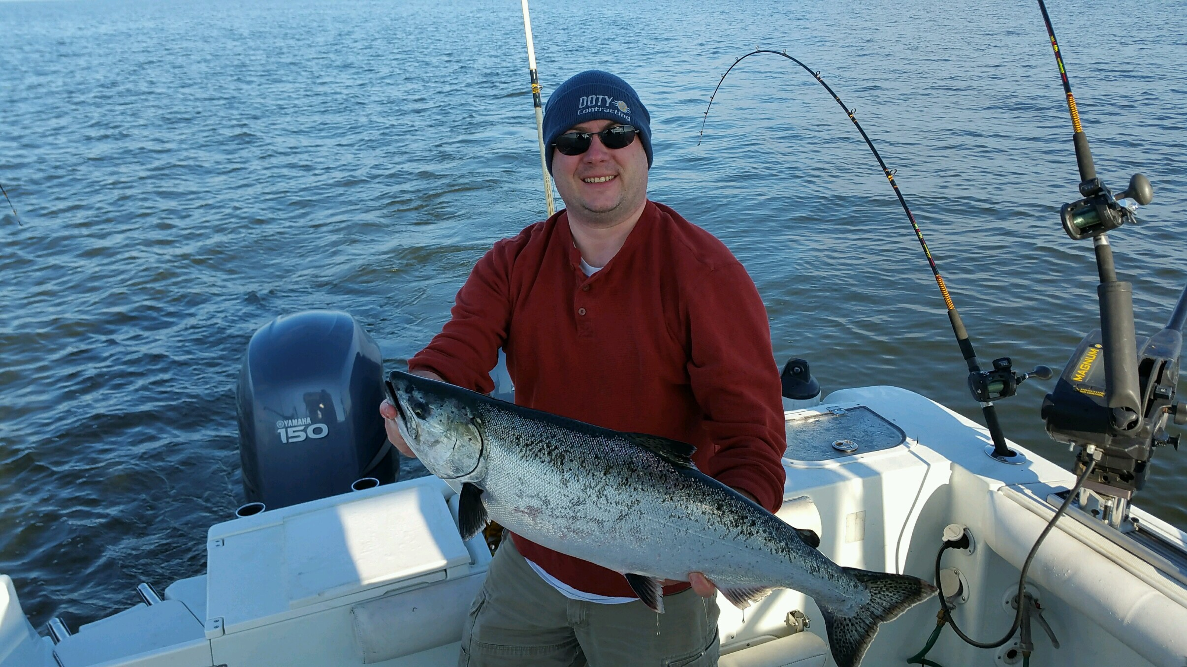 Oswego 5 12 new york fishing reports lake ontario for Oswego fishing report