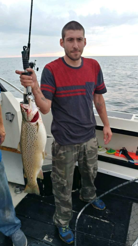 Amazing night of fishing new york fishing reports lake for Fishing report ny