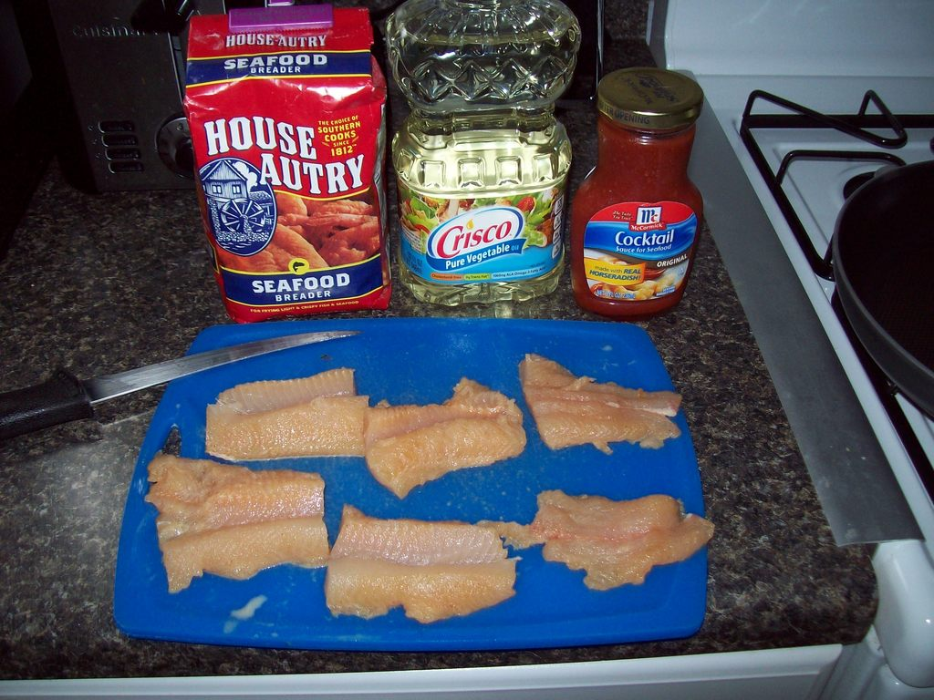 how to cook finger fish