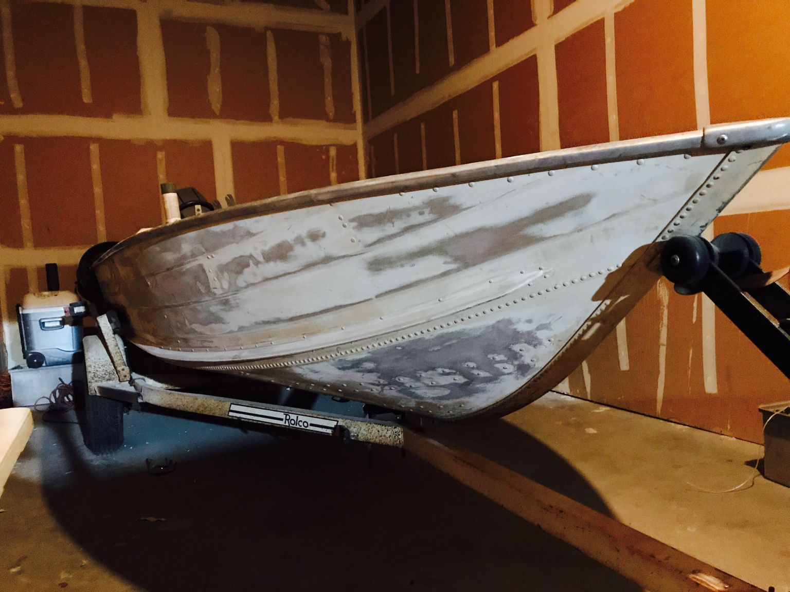 Can I Paint My Aluminum Boat With Rustoleum This Old Boat