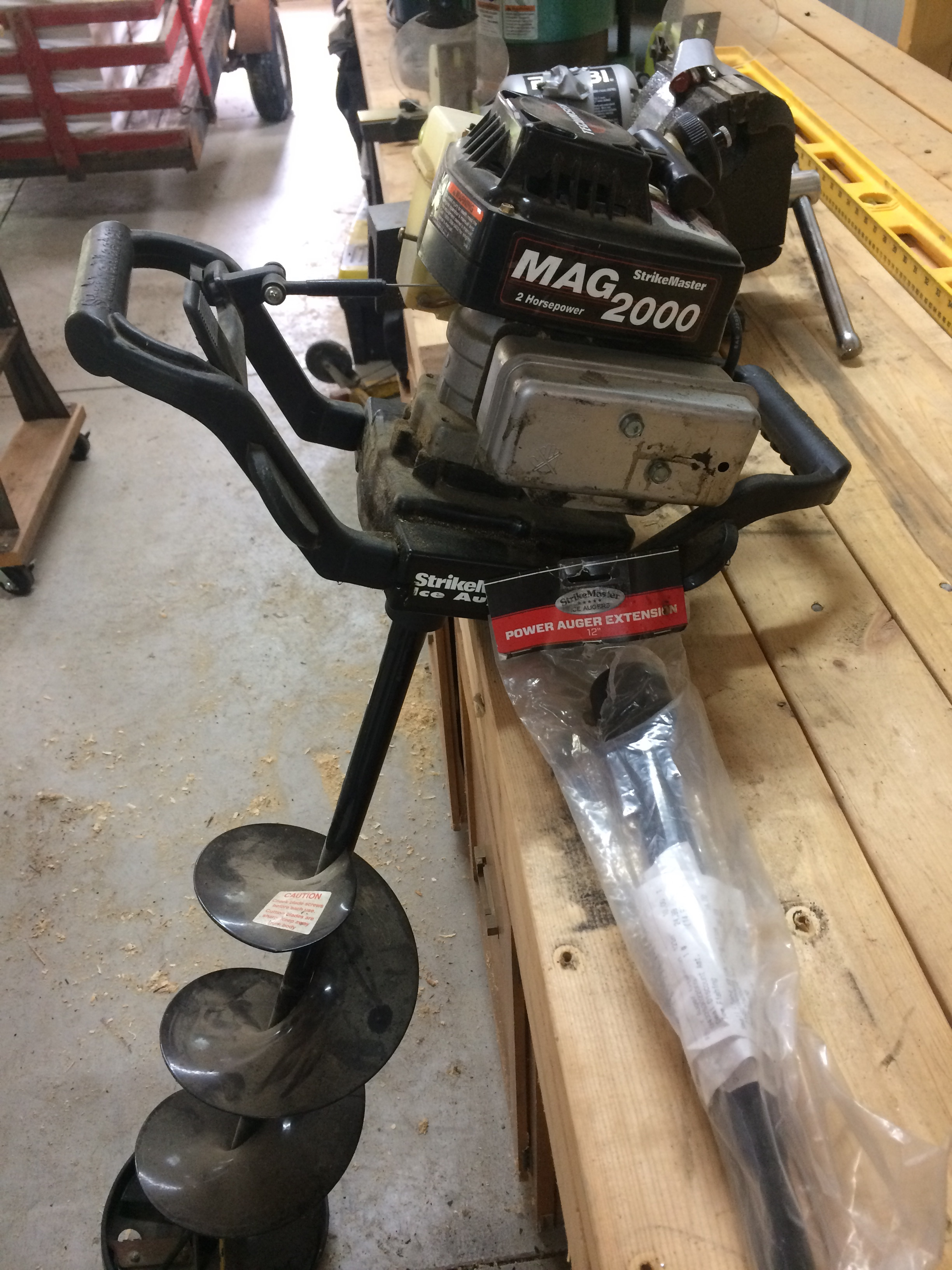 Strikemaster auger - Classifieds - Buy, Sell, Trade or Rent - Lake