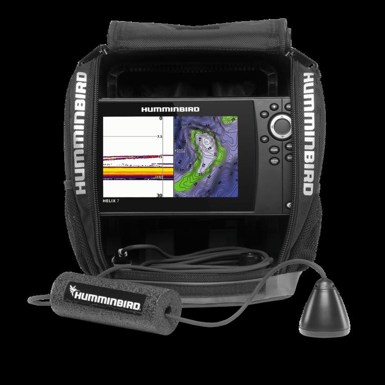 Humminbird ice helix 7 sonar gps ice sonar gps brand new for Humminbird helix 5 ice fishing