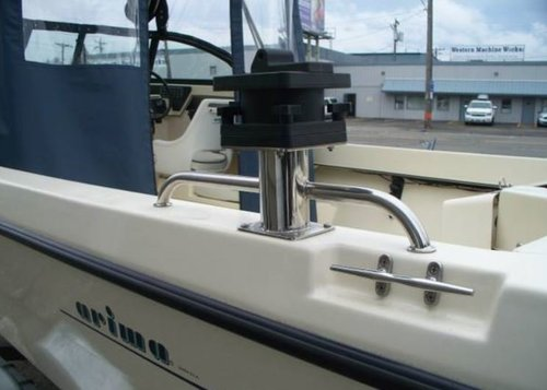 Cannon Downrigger On Cannon Track System Welcome To