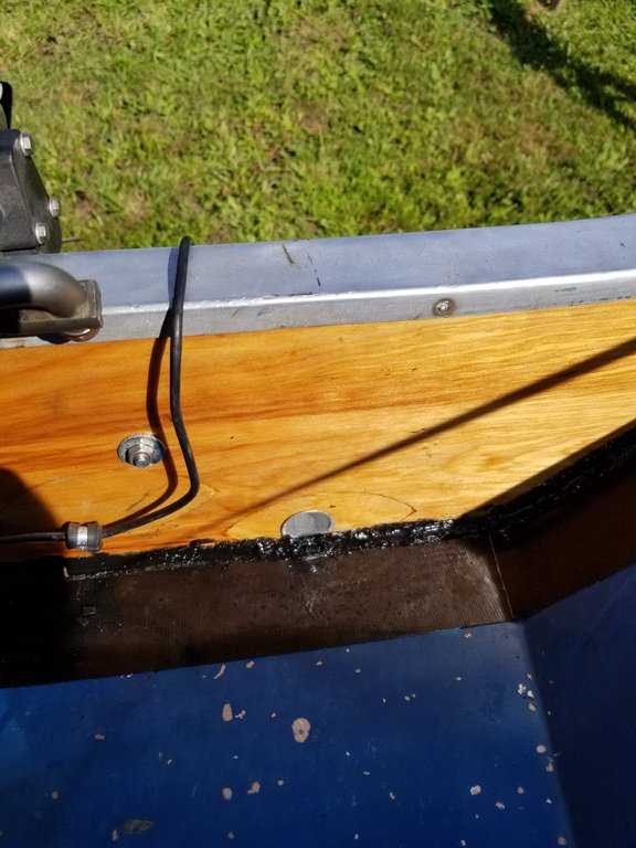 Bit the bullit    full transom replacement part 1 - This Old