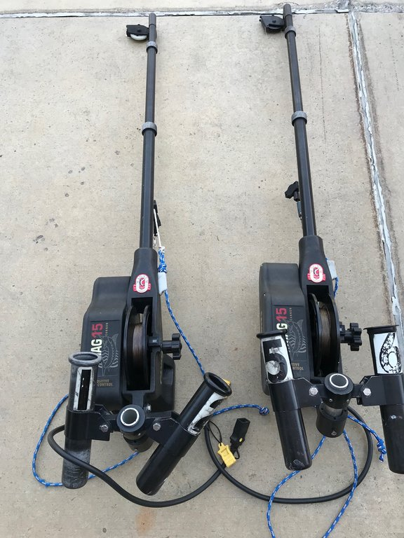 Cannon Mag 15 High Speed Electric Downriggers - Classifieds