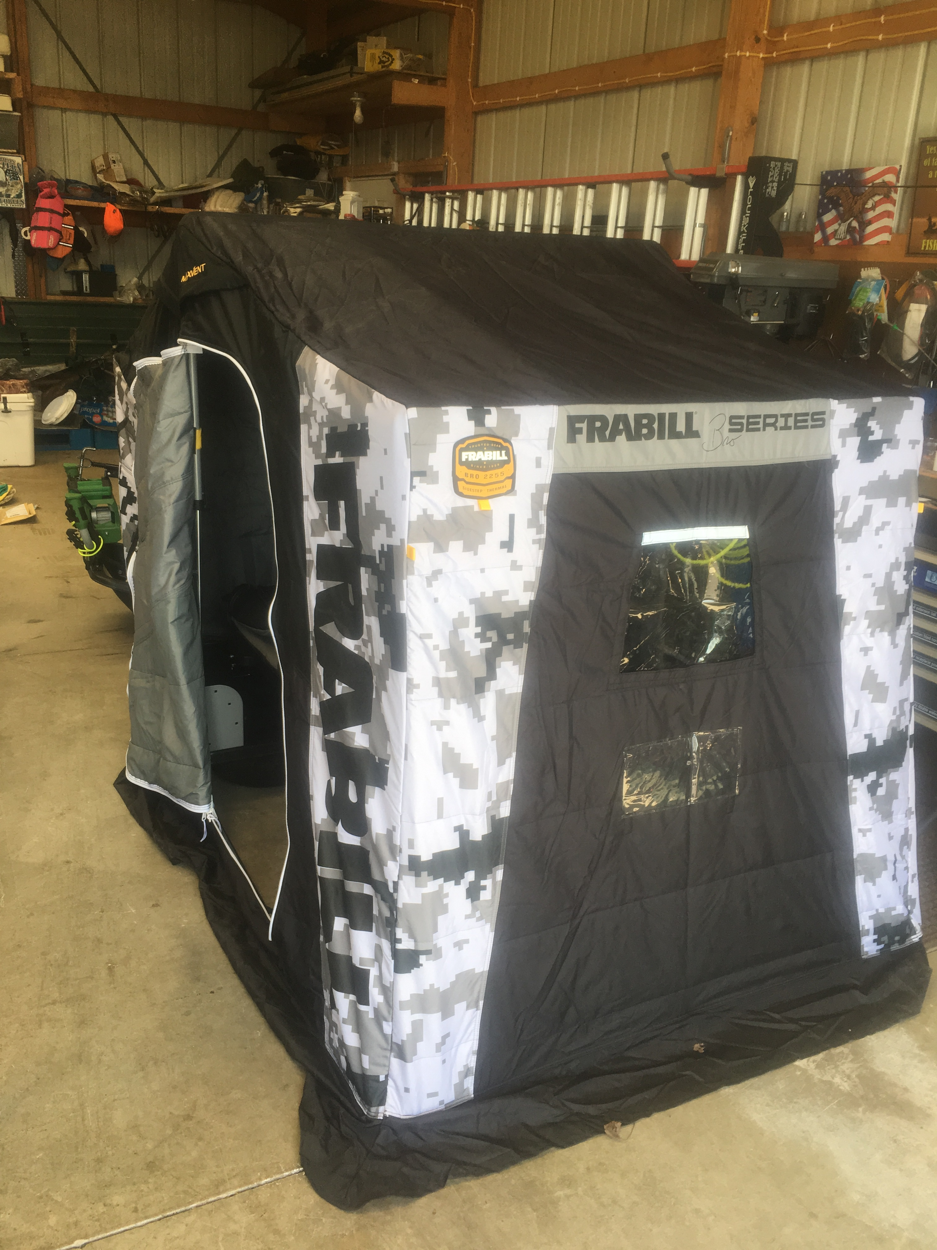 Frabill Bro Flip Over shelter - Classifieds - Buy, Sell, Trade or