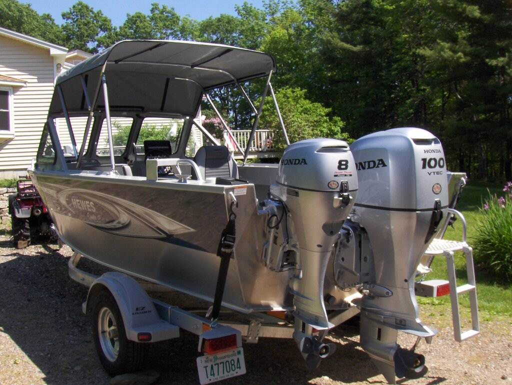 Going to pay for my lund boat tuesday fury or rebel - Open