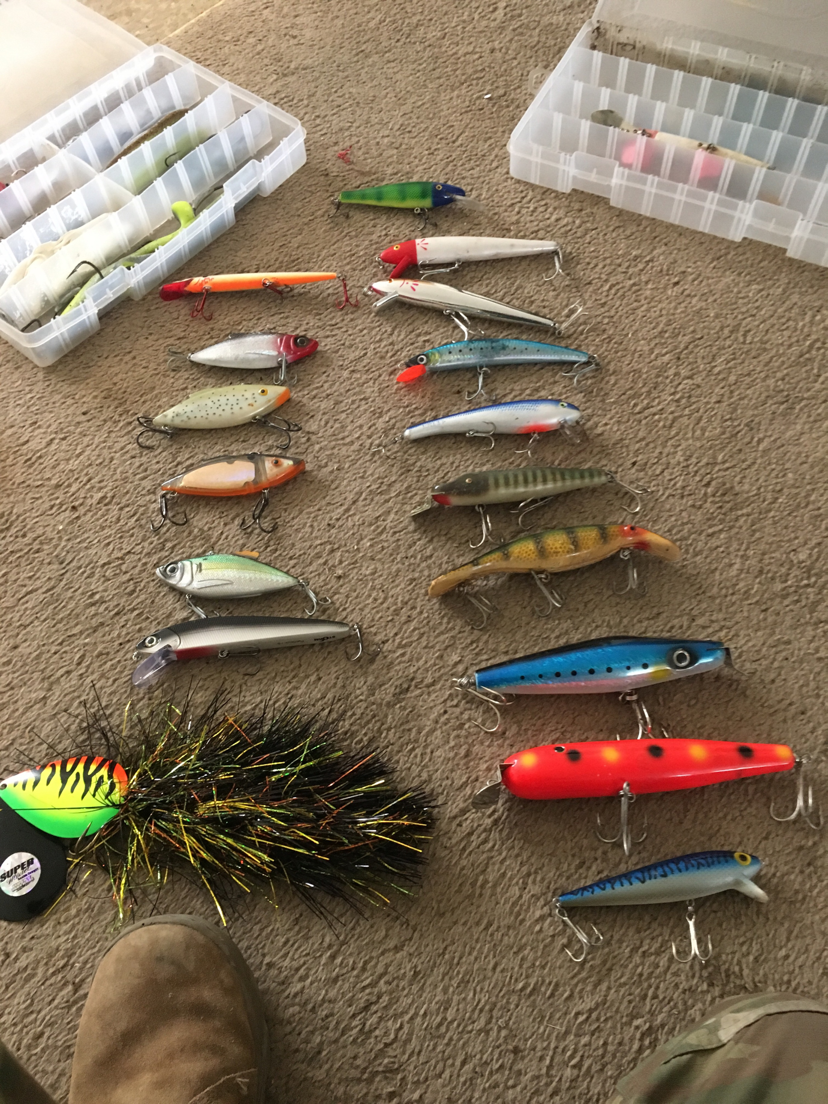 Musky and pike fishing lures - Classifieds - Buy, Sell