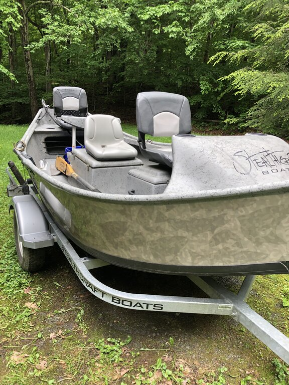 2017 Stealthcraft Sniper Drift Boat - Classifieds - Buy