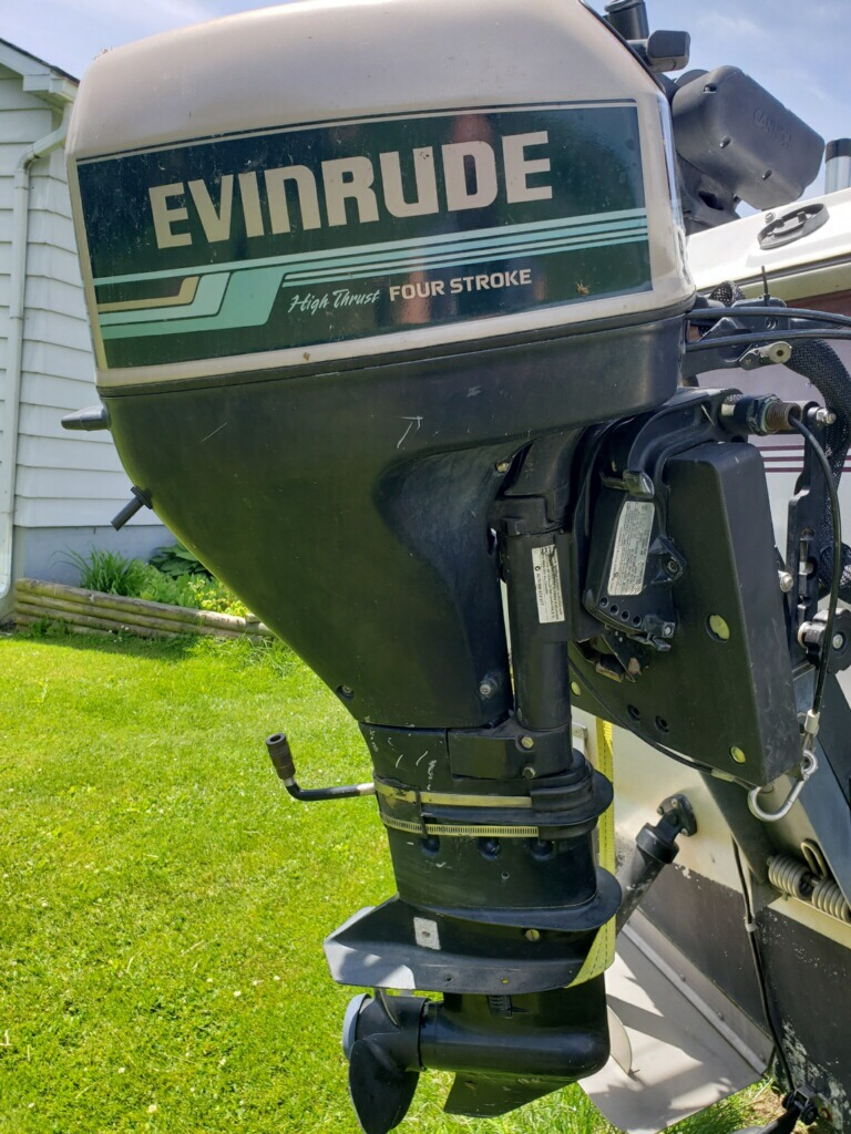 2000 9 9 hp evinrude 4 stroke - Classifieds - Buy, Sell