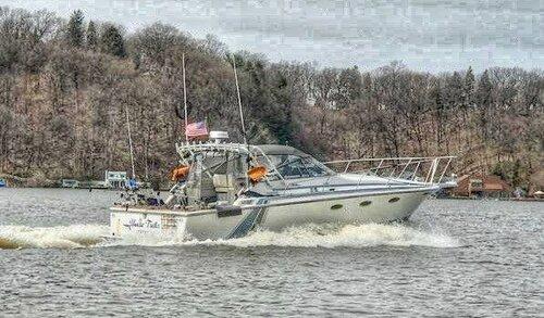Crazy Yankee Sportfishing Boat